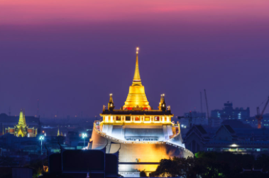 """10 attractions in Bangkok"""