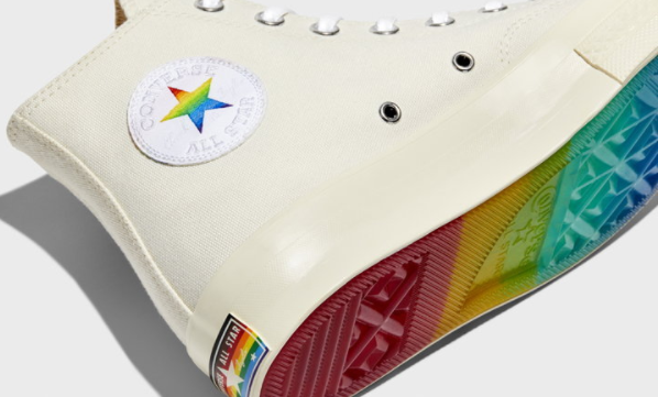 Converse Pride 2021 Collection of footwear and apparel