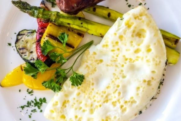 Egg white menu the best for health